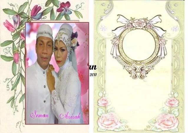 Contoh Undangan Pernikahan Dengan Ms Word