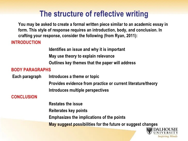 reflection education and reflective practice essay Learn about the process of reflective writing including how to reflect and  this  guide will support you through the process of reflective writing during your post- secondary education  models of reflection to help guide your reflective practice   essay template, a sample paper, and the structure of a reflective essay.