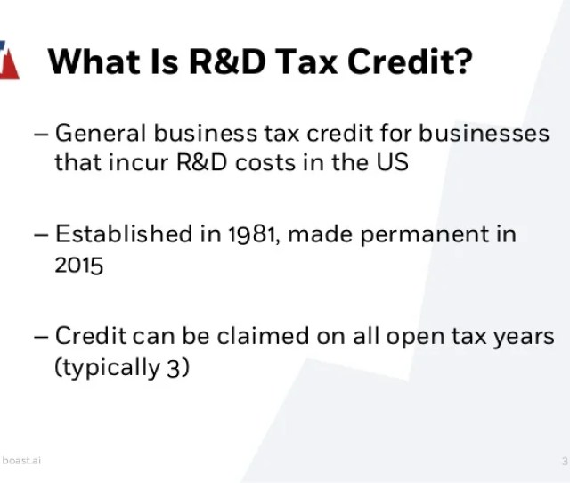 3 What Is Rd Tax Credit