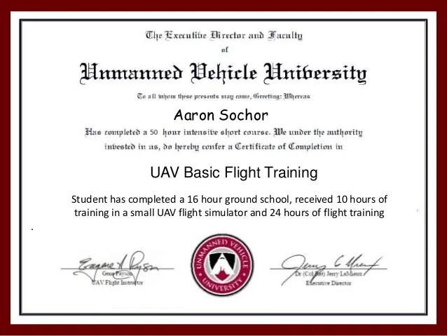 Uav Pilot Training