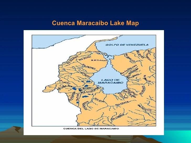 Venezuela Lake Maracaibo Map
