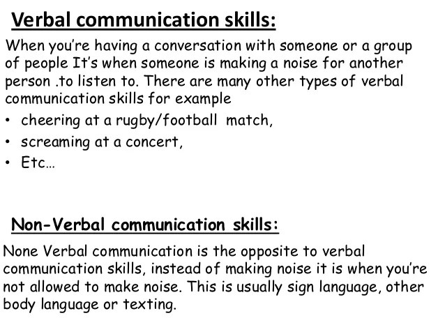 types of personal skills