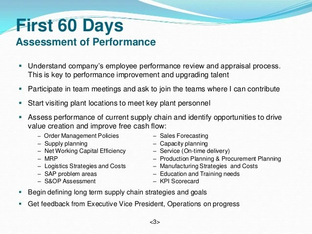 Sample 90 Day Employee Review