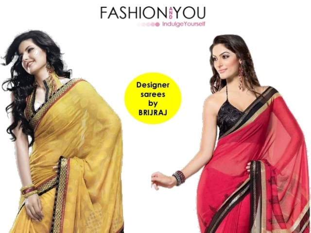 Fashion and You   In the shop   7th Feb 2012 Designer sarees byBRIJRAJ