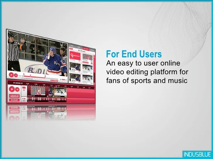 Online Video Editing Application - 웹