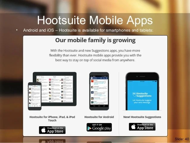 Image result for hootsuite mobile