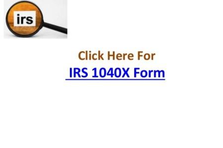 Free Standard Form Irs Form X Standard Form