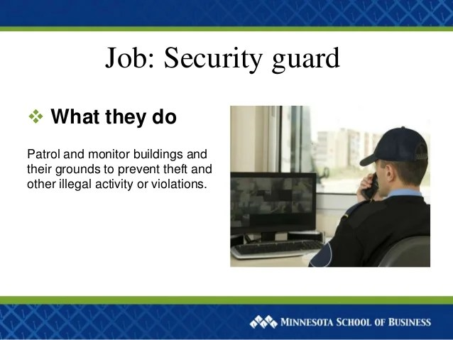 Private Security Guard Salary