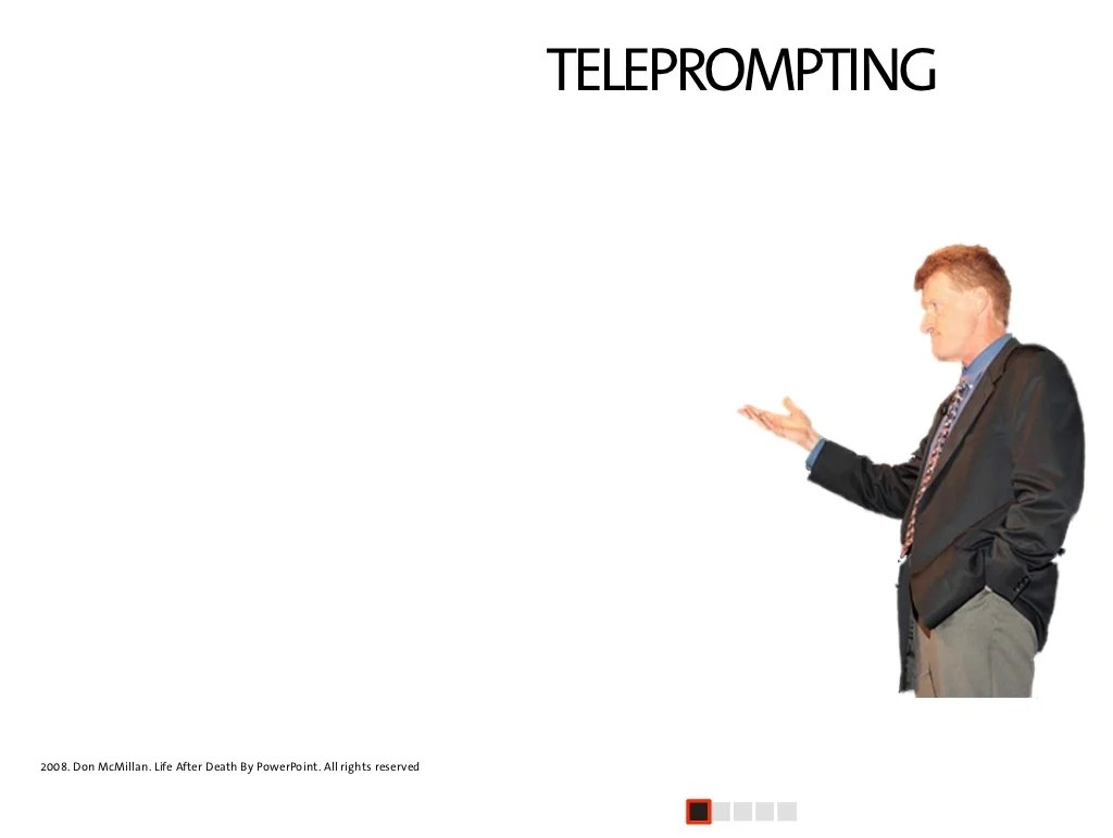 Teleprompting 1 Continued First Slide