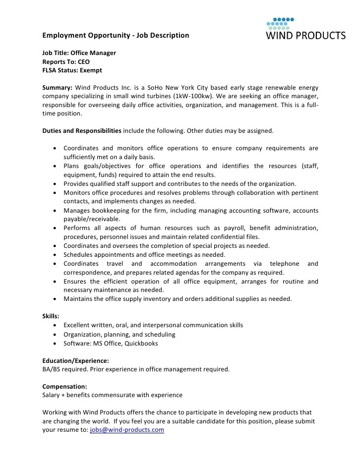 Resume Manager Description. resume manager duties head chef resume ...