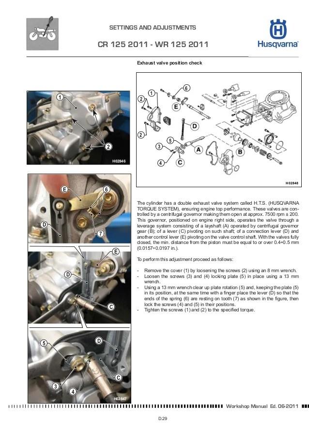 Husqvarna Workshop cr wrxc 125144150 2012