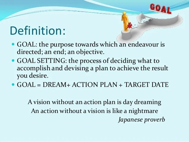 Self Development Goals Work Examples