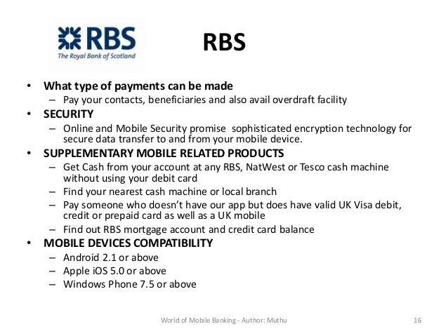 Rbs Personal Online Banking
