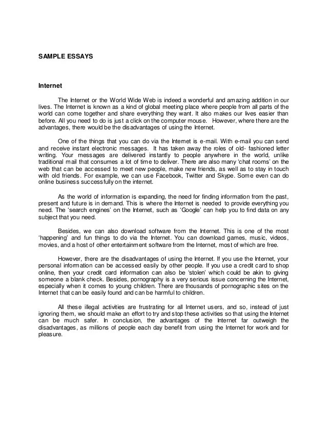 descriptive essays of a person