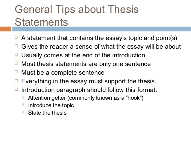 Good How To Write An English Paper Thesis Statement Application Essays Thesis  Statement Examples For Essays Resume