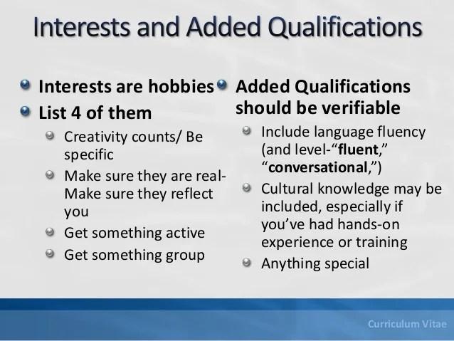 How to Write a Curriculum Vitae CV, Career Planning