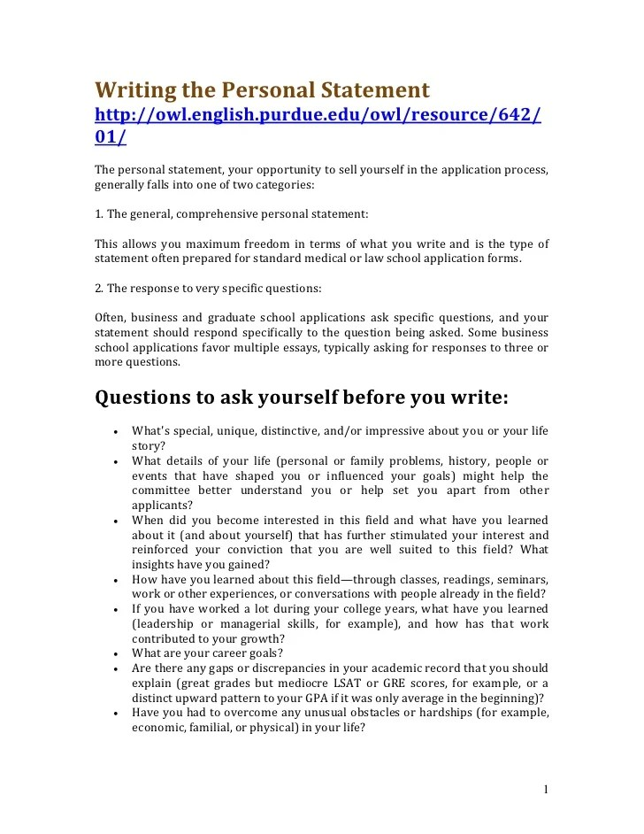How To Write A Personal Statement For High School Students     Home   FC