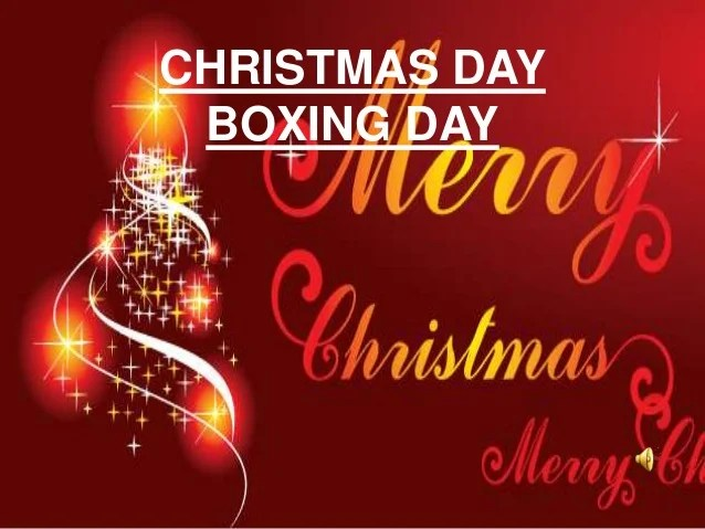 Boxing day poems poemsrom christmas day boxing m4hsunfo