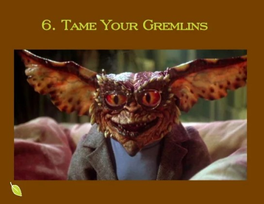 Grow with Purpose Tame Your Gremlins