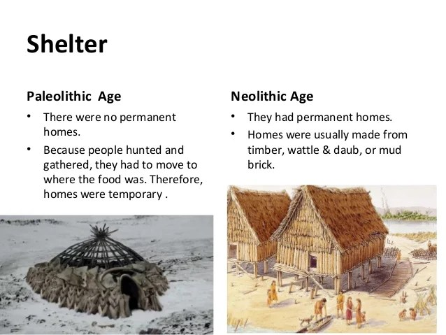 Palaeolithic And Neolithic Ages