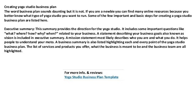 Yoga studio business plan yourviewsite yoga studio business plan accmission Gallery