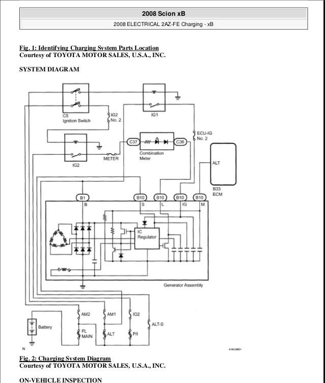 SCION XB 2009 Service Repair Manual