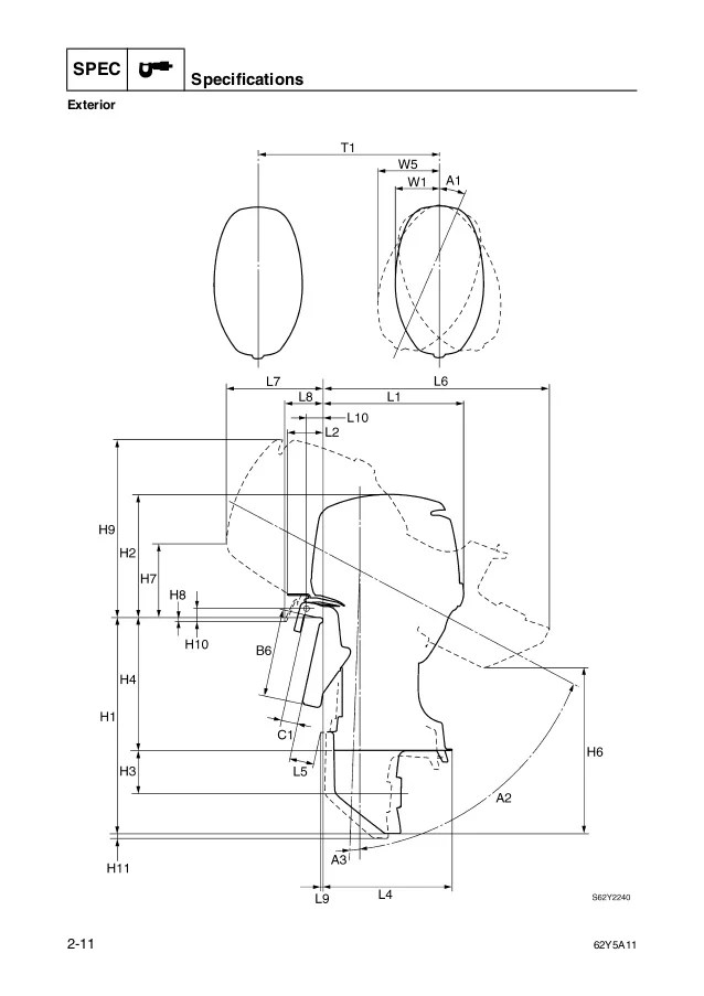 YAMAHA F50 OWNERS MANUAL  Auto Electrical Wiring Diagram