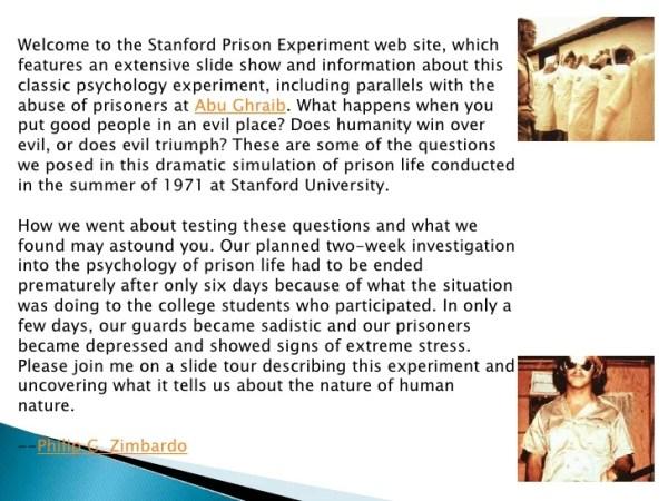 Stanford Prison Study