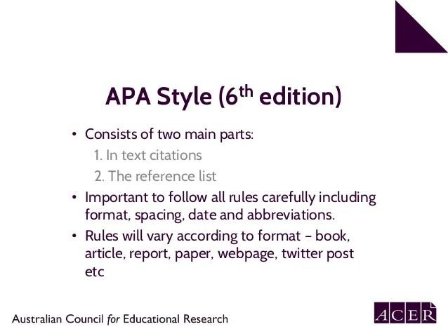 apa format essay example 6th edition - Ex