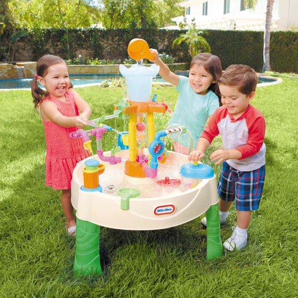 Little Tikes Fountain Factory Water Table Smyths Toys Ireland