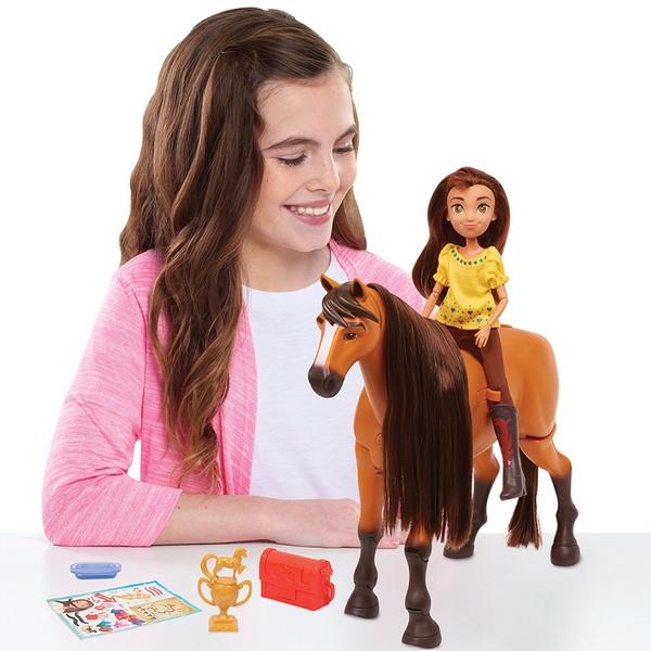 Spirit Riding Free Deluxe Walking Spirit With Lucky Smyths Toys Ireland