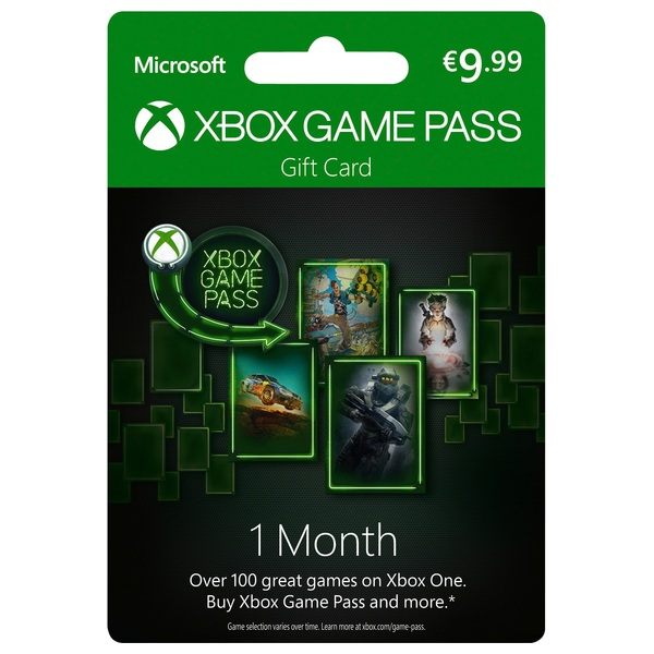 Xbox 1 Month Game Pass Xbox One Memberships Ireland
