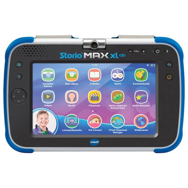 Vtech Storio Max Xl 2 0 Blau Smyths Toys Superstores