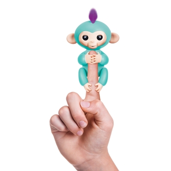 WowWee Fingerlings Turquoise Baby Monkey