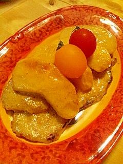 りんごと豚肉のノルマンディー風ソテー
