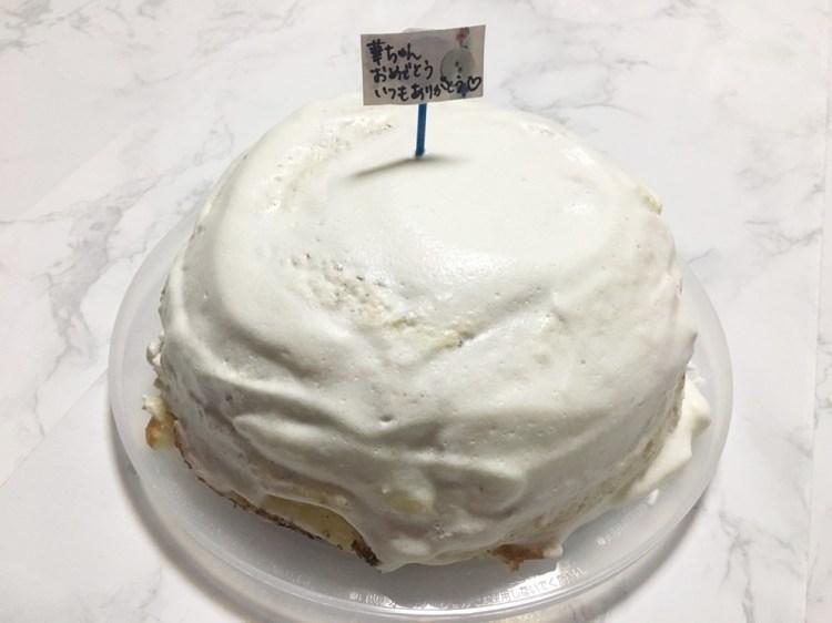 ホットケーキミックスで簡単ドームケーキ