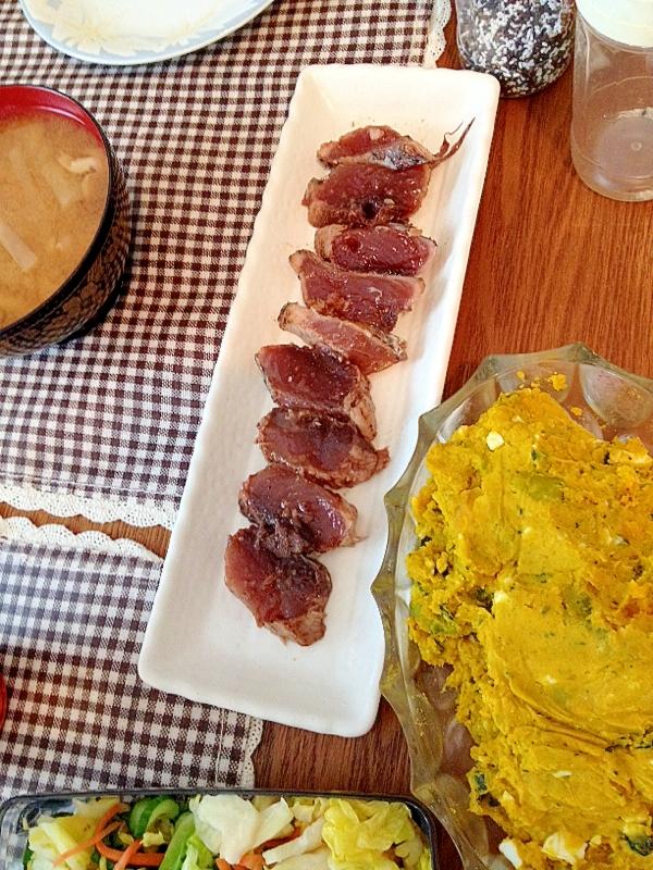 カツオのカルパッチョ☆バルサミコ味