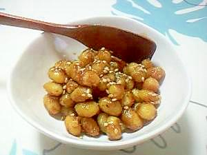 箸が止まらない!甘辛炒り大豆++