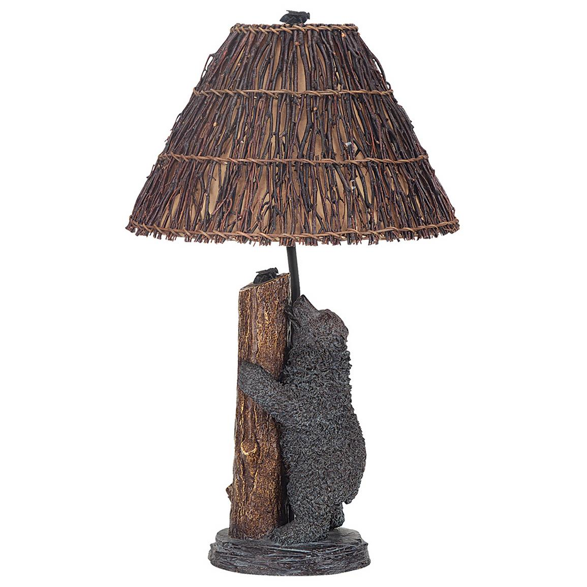 Cal Lighting Table Lamp Bronze