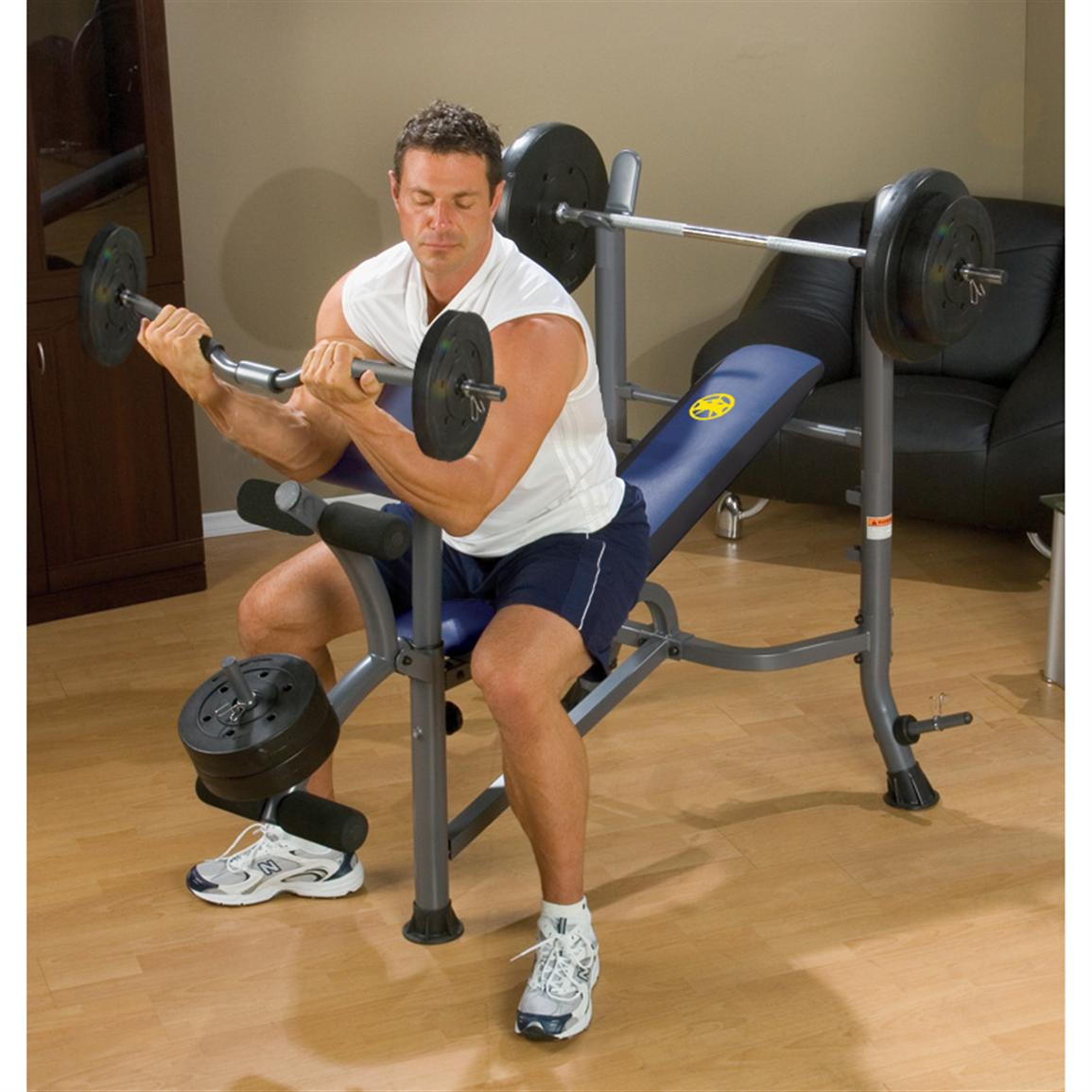 Marcy 174 Dual Function Weight Bench 170729 At Sportsman