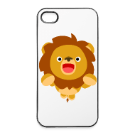 iPhone 4/4S Case - Other Hi! Cute Playful Cartoon Lion Cheerful Madness!! Other