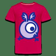 Koszulka młodzieżowa Premium - Koszulki Rysunkowy okrągły ptak od Cheerful Madness!! Koszulki