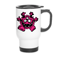Thermobecher - Flaschen & Tassen Friendly Cartoon Monster by Cheerful Madness!! Bottles & Mugs