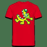 Standardowa koszulka męska - Koszulki Śmiejący się rysunkowy pies od Cheerful Madness!! Koszulki