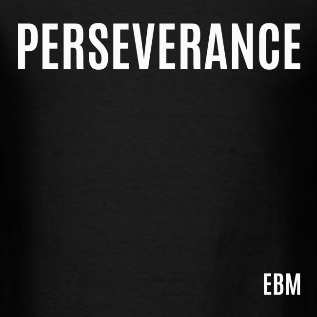 Empowered Black Male T Shirts By Lahart Perseverance Black Male