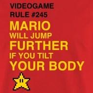 video game rule super mario bros