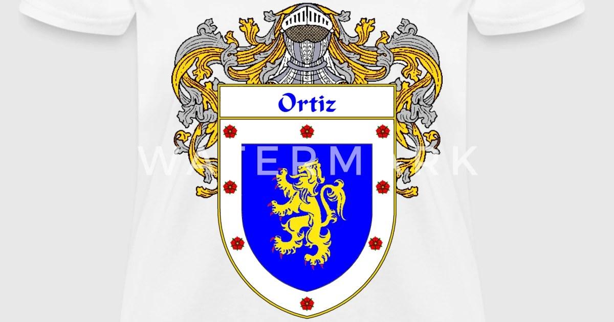 Ortiz Family Crest Coat