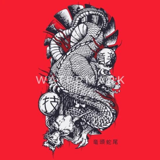 Japan Dragon Yakuza Women S Premium Hoodie Spreadshirt