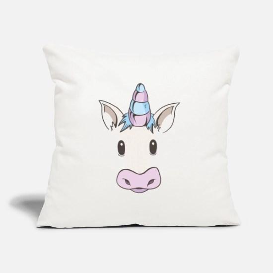 unicorn face cute cool funny throw