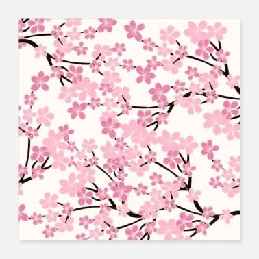 cherry blossom posters unique designs